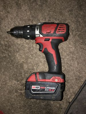 Milwaukee Power Drill for Sale in Evansville, IN