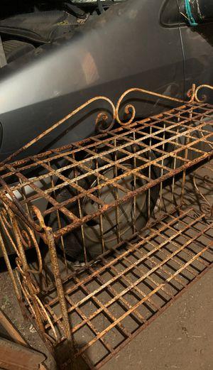Vintage rod iron rack for Sale in Riverside, CA