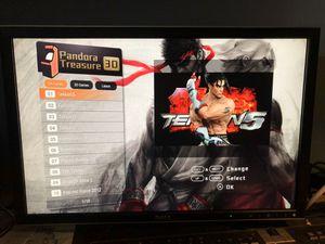 Pandora's Box Treasure 3D, 2190 2D and 10 3D games in 1 Home Arcade Console for Sale in Aurora, IL