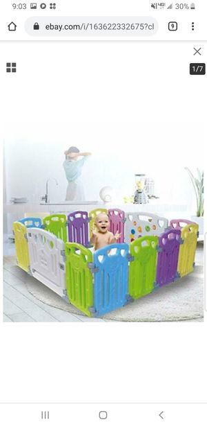 playpen play yard for kids for Sale in Downey, CA