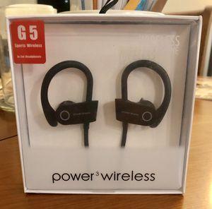 Sports Wireless Earphones Power3 G5 for Sale in Denver, CO