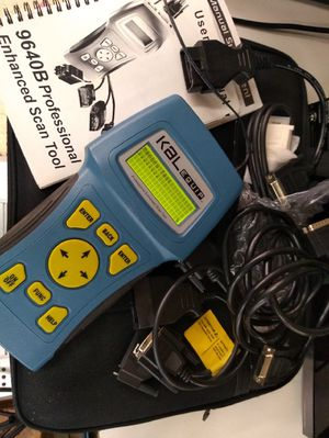 Kal Equip: Professional Enhanced Scan OBD Tool 9640B Car Repair Analyser  Diagnostic for Sale in Alexandria, VA