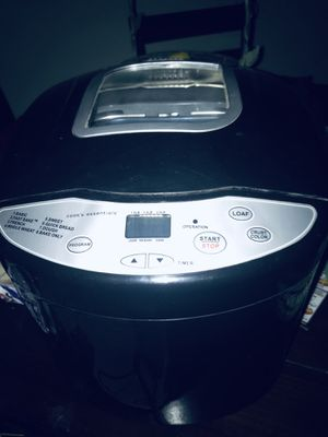 Bread maker for Sale in New Braunfels, TX