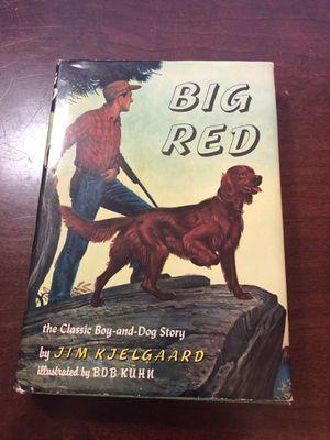 Big Red hardback book for Sale in Pike Road, AL