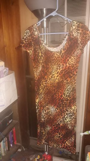 Absolutely it!!Prettyleopard dress.. for Sale in El Monte, CA