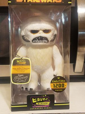 Hikari Funko Wampa limited edition out of 1200 very rare. for Sale in Burlington, NC