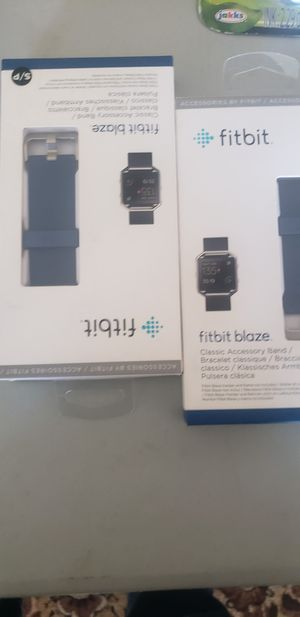 Blue Fitbit Blaze BAND ONLY, NEW for Sale in Manteca, CA
