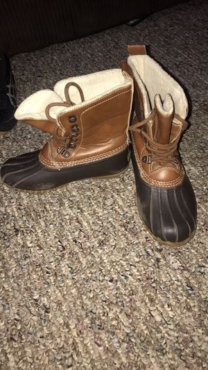 Girls size 13 duck boots for Sale in Harvard, IL