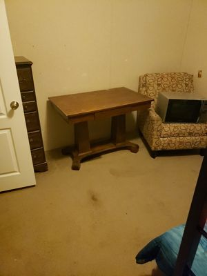 Nice old desk with drawers for Sale in Morgantown, WV