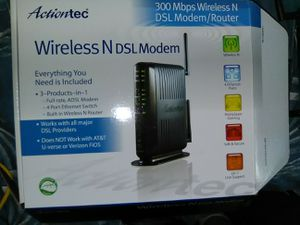 Actiontech Wireless DSL modem router for Sale in Philadelphia, PA