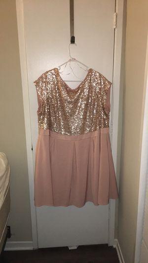 Pink Sequin Dress PlusSize for Sale in Atlanta, GA