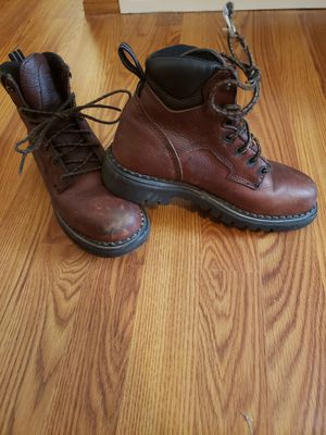 Redwing Steel Toe Boots (womens size 7) for Sale in Irving, TX