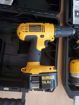 Dewalt 14.4 drills for Sale in Hanover Park, IL