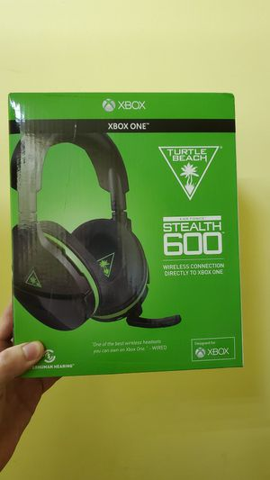 Stealth 600 Xbox one Turtle Beach gaming headset for Sale in Garland, TX