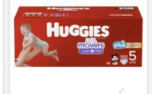 Huggies #5-150 count for Sale in Los Angeles, CA