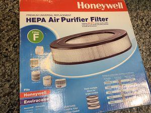 Honeywell Hepa Air purifier filter for Sale in Garland, TX