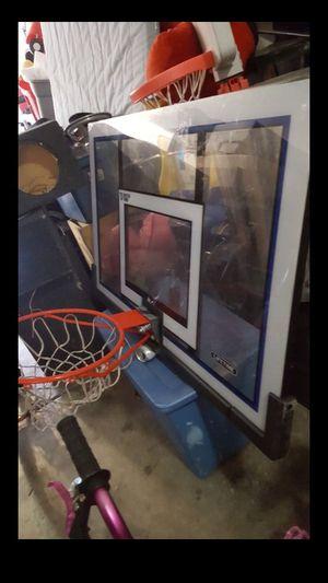 Lifetime sports basketball hoop. Backboard and rim for Sale in Phoenix, AZ