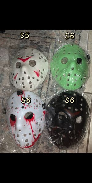 Halloween Jason Mask for Sale in Fresno, CA