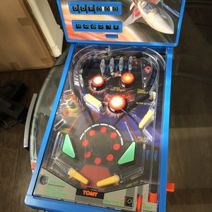 Vintage 1991 Astro Shooter Mini Arcade Pin Ball Machine Toy for Sale in Irvine, CA