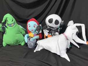 Nightmare Before Christmas Plush dolls for Sale in Las Vegas, NV