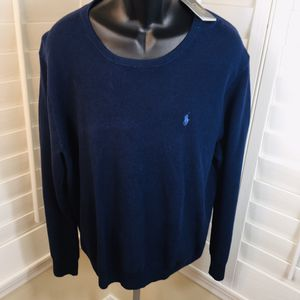 Polo Ralph Lauren Navy Blue Sweater, Crewneck Pullover - Men's 2XL - Brand New w/Tags $125.00 for Sale in Glendale, AZ