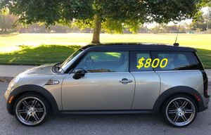 $800 URGENT! I Selling 2009 MINI Cooper Clubman S,Very clean!Clean Tittle! Runs and drives great.Nice family car!one owner! for Sale in Fresno, CA