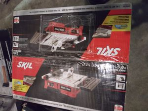 Skil wet tile table saw/ QEP wet tile table saw for Sale in Owensboro, KY