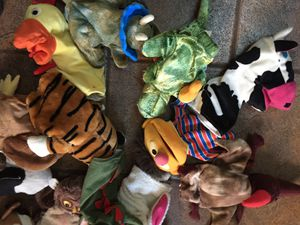 hand puppet and stuffed animal lot for Sale in Spring Valley, CA