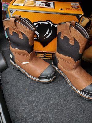 steel toe work boots size # 12 for Sale in Laurel, MD