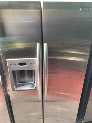 Kitchenaid stainless steel side-by-side refrigerator fridge with water and ice maker DELIVERY for Sale in Federal Way, WA