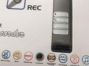 Digital Voice Recorder 8GB Bluetooth for Sale in Las Vegas, NV