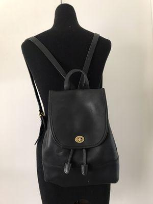 Vintage Coach 9791 Black Backpack for Sale in Arlington, TX