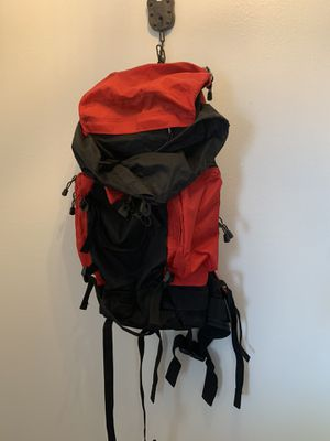 Large red and black backpack hiking light weight for Sale in Sun City, AZ