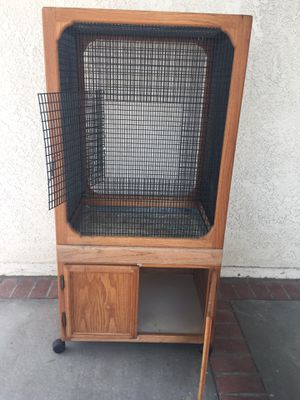 Large bird cage with storage cabinet for Sale in Chula Vista, CA