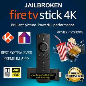 Jailbroken Amazon Fire TV Stick 4k Loaded TV/Movies/Sports/PPV/XXX for Sale in Mountville, PA