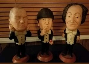 Three 3 Stooges Large Statues made in 1980 for Sale in Anaheim, CA