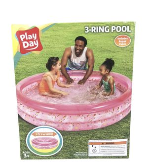 3 ring pool pink (ages 3+) for Sale in VA, US
