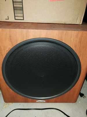 Polk audio PS125 12 inch subwoofer for Sale in San Diego, CA