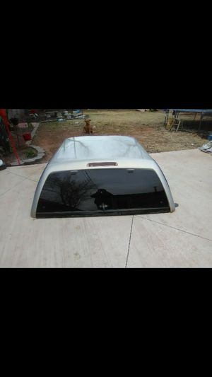 Camper shell $400obo gray/silver for Sale in Oklahoma City, OK