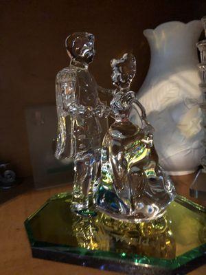 Cinderella and Prince charming Crystal dancing figurine for Sale in Belleair, FL