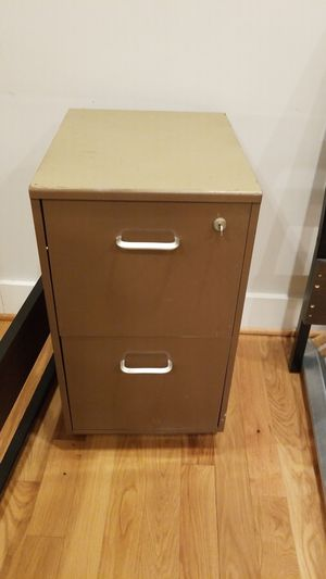 Heavy duty metal file cabinet for Sale in Hyattsville, MD