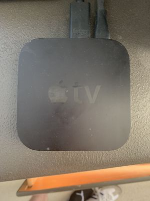 2nd Gen Apple TV with 2 remotes for Sale in Mission Viejo, CA