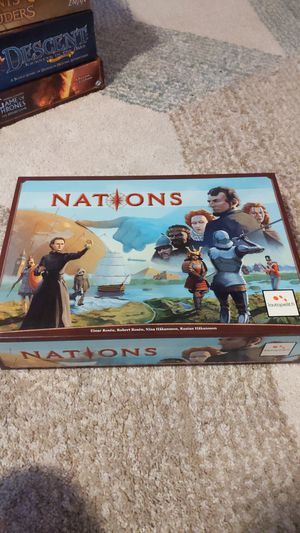 Nations Board Game for Sale in Alameda, CA