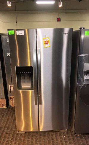 Brand New Whirlpool Side by Side Refrigerator(Model:WRS571CIHZ) ZOZ for Sale in Dallas, TX