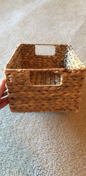 Woven Storage Container! for Sale in Washington, DC