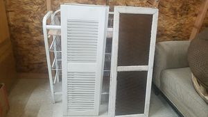 2 Shutters and 2 Matching Windows/Doors - $OBO for Sale in Centralia, WA