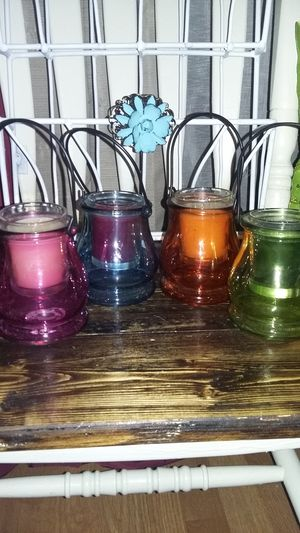 Colorful Glass Lanterns for Sale in San Antonio, TX