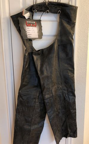 Vulcan motorcycle gear chaps for Sale in Euless, TX