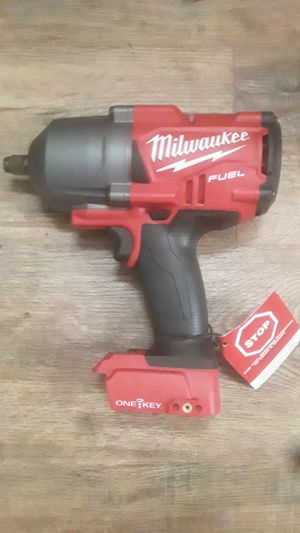 "Milwaukee M18 fuel 1/2"" one key impact wrench for Sale in Portland, OR"