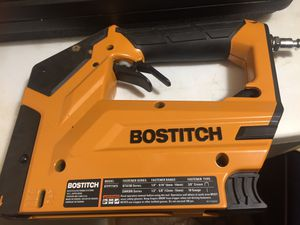 Bostitch stapler and finish nail gun/ New for Sale in Huntsville, AR